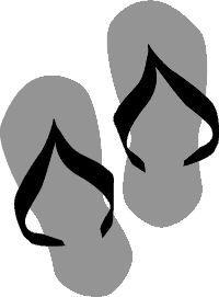 Flip flop SVG