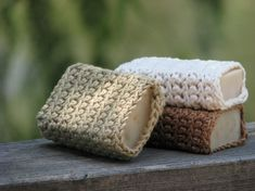 knitted soap cover organic cotton, soap pouch, color, gift ideas, friend soap, pouch organ, grown cotton, crochet patterns, eco friend