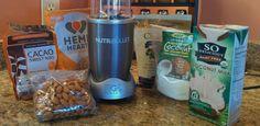almond milk, almonds, nutribullet recip, food, drink