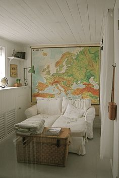 A map can make a room!