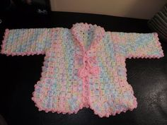 ▶ Crochet Baby Sweater for the set. - YouTube