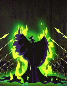 *MALEFICENT ~ Sleeping Beauty, 1959 Probably one of the most evil Disney villains out there.
