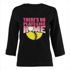 Oh I think my softball girl would love this :-D  Funny Girls Softball Shirts   ... Size Tee's   Fastpitch Softball Ladies Plus Size T-Shirts - CafePress