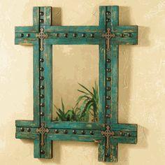 Tierra Santa Turquoise Mirror