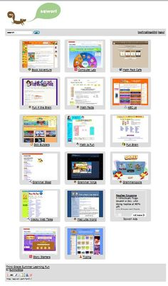 Great Learning websites that are actually fun!!