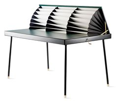 Homework Table by Nika Zupanc.