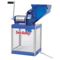 Gold Medal 1813 Simply Sno Manual Crank Sno Kone Machine