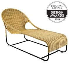 New York interior design firm foley&cox turned out this sleek, swank version of the leisure chair earlier this year. Nice curves give it decidedly midcentury leanings, but the lightweight frame is all modern. Hardy polypropylene fibers, handwoven in Mexic