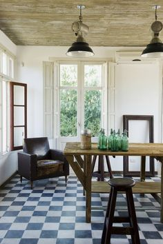 Rustic boutique hotel in Uruguay: Casa Zinc