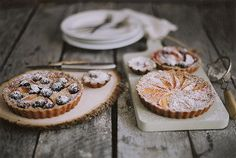 Stone Fruit Tart #recipe