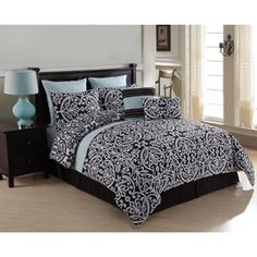 Victoria Classics Tempo 8-Piece Bedding Comforter Set