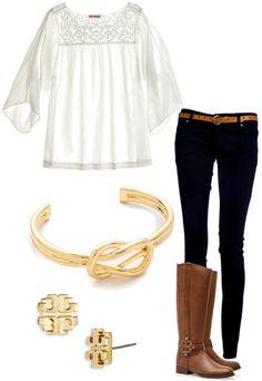 pop of white