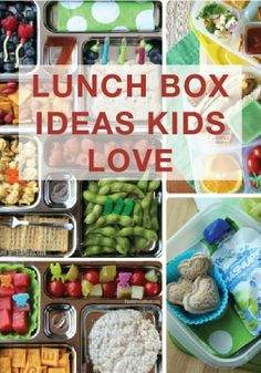 Easy school lunch box ideas your kids will LOVE!