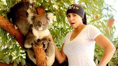 Emma and Layla visit a wildlife park in Perth, Australia. #WWE