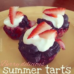 Berry Delicious Summer Tarts shared by Tone It Up Member Lyndsayruns.