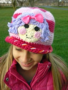 Lalaloopsy Pillow Featherbed Crochet Hat