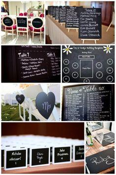 chalkboards, idea, wedding receptions, escort cards, chalk board, brides, rustic weddings, reception seating, seating charts