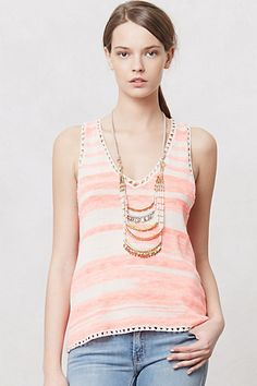 Desert Sands Tank  #anthropologie