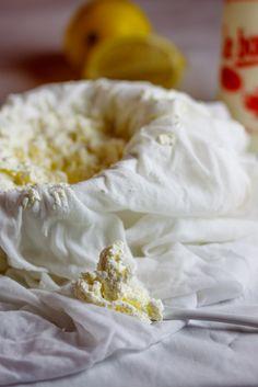 Home-made Ricotta cheese. #Cheese #Recipe