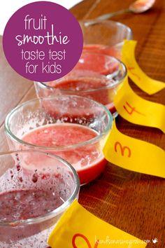 A Taste Test for Kids: See It, Smell It, Taste It!