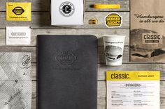 Classic Burger Joint / Branding by Wondereight