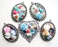 Art Collage Charms