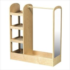 Build it!  Dress-up storage rack for kids. This is what I want!!!! Thinking Hubby is not this handy though ...