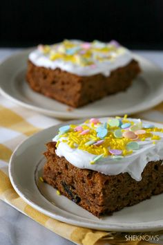 Slow cooker carrot cake #recipe