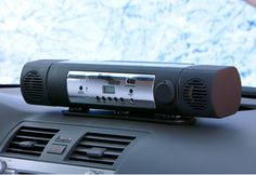 Remote Control Interior Car Heater @ $150 Sharper Image -What would we love to have in our cars now that temperatures are plummeting? A remote starter. What's really expensive and difficult to install? A remote starter.