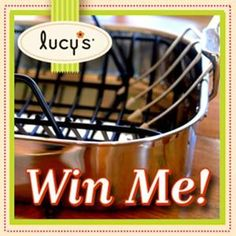 Sign up here for your chance to win Lucy's Fall Flavors Giveaway! Don't forget, if you get a friend to sign up, you'll be entered again for even better odds at taking home a deluxe roasting pan and Lucy's cookies just in time for Thanksgiving.