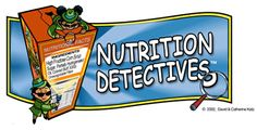 Nutrition Detectives - Curriculum and lesson plan