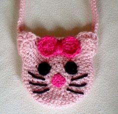 Hello Kitty Crocheted Purse