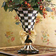 Mackenzie-Childs Ceramics - dining room centerpiece
