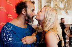 The Kiss with Gustav Klimt  http://www.viennaforbeginners.com/2012/07/gustav-klimt-kiss-happy-150th-birthday.html