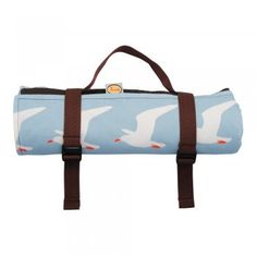 seagulls picnic blanket.