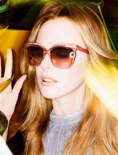 Nicole Kidman wearing Jimmy Choo sunglasses