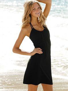 honeymoon, beach dresses, strap bra, victoria secrets, top dress, bra top, at the beach, braid strap, casual dressy