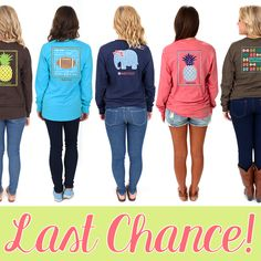Last Call! Our Limited Edition Tees are ON SALE now at Marleylilly.com!