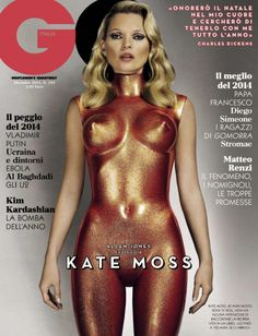 Kate Moss Covers GQ