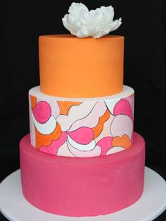 Pucci Inspired cake