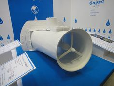 Underwater River Turbine For Free Continuous Power