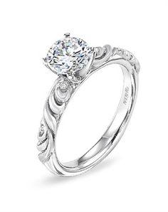 ArtCarved 31-V104ERW-E 31-V104ERW-E Engagement Ring