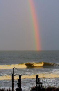 Rainbow over Folly Beach, SC