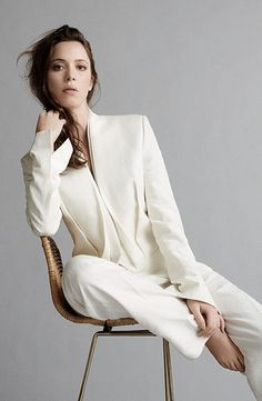READY FOR HER CLOSE-UP  Whether reciting Shakespeare on the West End, portraying a villain in this month's all-star costume drama Parade's End or fighting evil in Iron Man 3, English actor Rebecca Hall finds the spotlight on stage and screen alike.