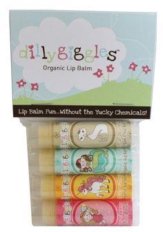 organic lip balm...H would LOVE this!
