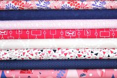 PLEASE REPIN THIS FOR ME ^_^  If I get 22 repins I get it for free ^_^ fat quarter bundle (foxes at play)--misc. designers--8 pieces--2 yards total. $21.62, via Etsy.
