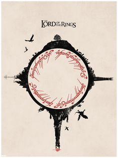Lord of the Rings Trilogy. I am in love with this, future tattoo possibility. #Lordoftherings