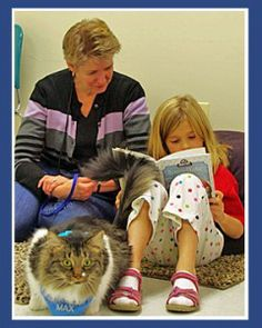Do you think your pet may make a good therapy pet? Stop by the Lake Bluff Library at 7 p.m. for Pet Therapy - Not just for dogs! to learn more.