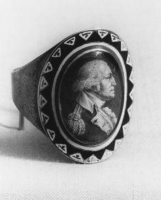 Mourning ring for George Washington