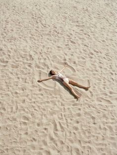 Sand Angels > Snow Angels via laurenconrad.com